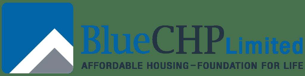 Blue CHP Housing logo